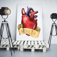 Health and cardiology concept