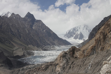 Passu Glacier in Northern Pakistan