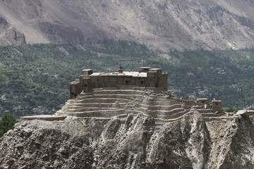 Baltit fort in Karimabad, Hunza