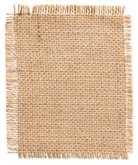Burlap Fabric Patch Label, Sackcloth Piece of Linen Jute, Sack C