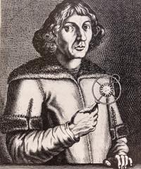 Portrait of the scientist philosopher Niklas Koppernigk (Copernico)