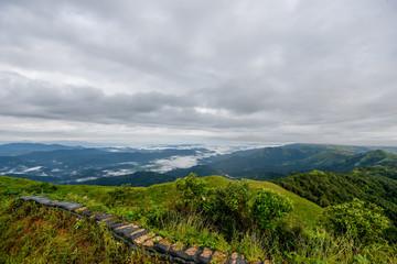 View beautiful nature landscape , Kanchanaburi, Thailand