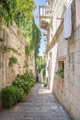 Piękna uliczka w Chorwacji