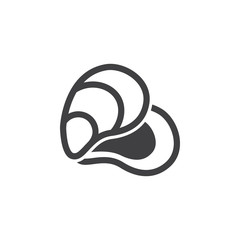 Oyster Sea Food Icon