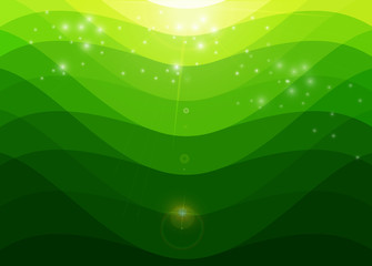 green background vectors