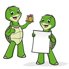 Cartoon Turtles