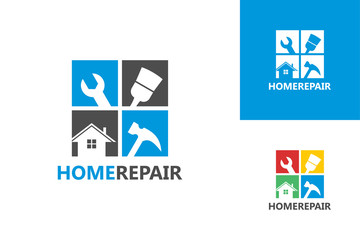 Home Repair Logo Template Design