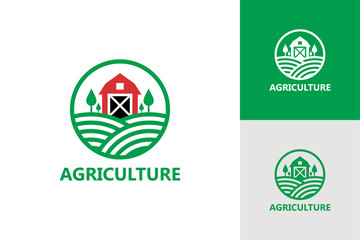 Agriculture Logo Template Design