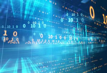 abstract defocus digital technology background
