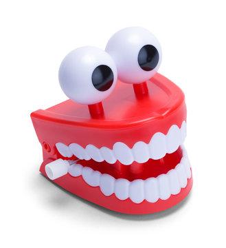 Chatter Teeth With Eyeballs