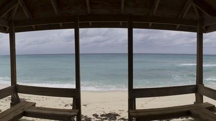 Beach hut, Grand Turk