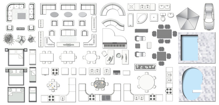 208 992 Best Floor Plan Images Stock Photos Vectors Adobe Stock