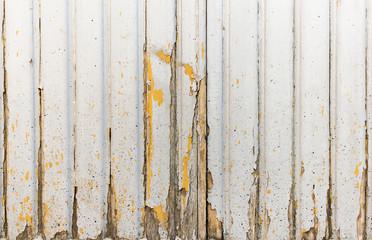Detail of wooden door sunken