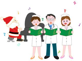 医療スタッフのクリスマスコンサート