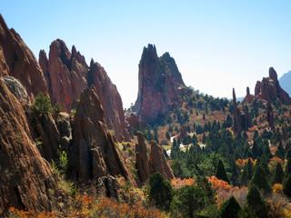 Garden of the Gods, Colorado Springs, USA