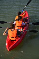 Excursión en Kayak.