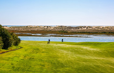 Golfers in Portugal - Algarve Golf