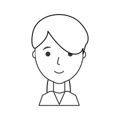 woman face  vector illustration