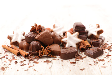 chocolate,gingerbread and spices