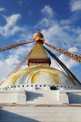 Nepal. Stupa Bouddanath in Kathmandu