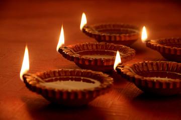 Earthen Clay Handmade Diwali Oil Lamps