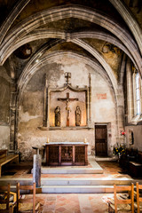 La Chapelle du Rosaire ou des Abbés à Conques en Rouergue