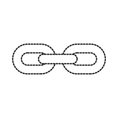 chain links connection strong hyperllink icon business concept
