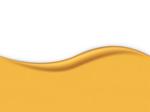 Yellow smooth wave background