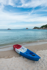 Aow Luek beach at Koh Tao in Suratthani, Thailand