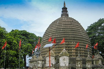 View of Kamakhya Temple, Guwahati, Assam.