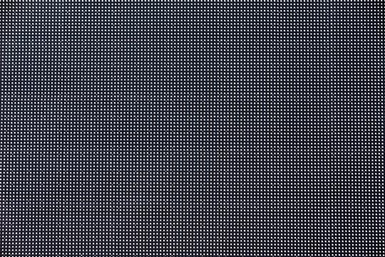 The LED screen in macro mode.