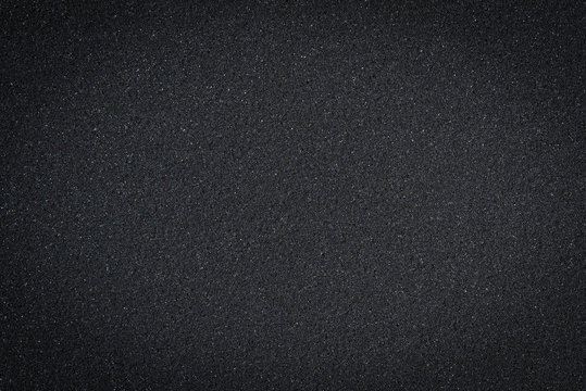Texture of black sponge