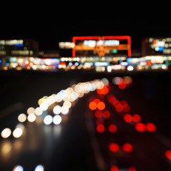 abedndlicher Straßenverkehr