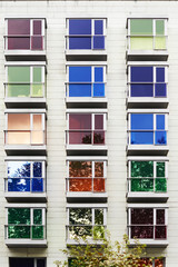 Colorful facade