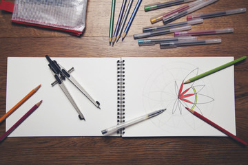 Creating your own colouring book...
