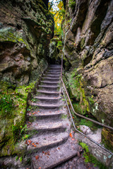 Saxon Switzerland Stairs