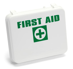 Square First Aid Box