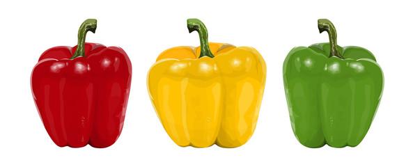 Bell pepper set.