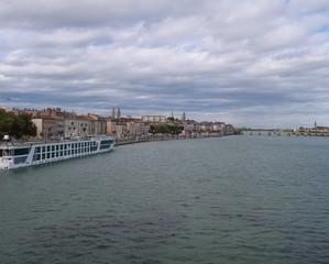 Along  the Saône river