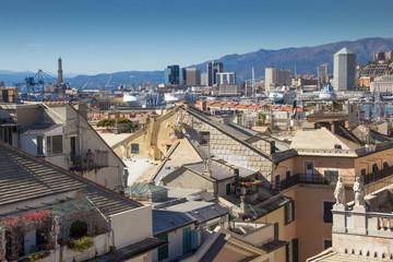I tetti di Genova