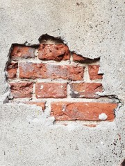 Cegły w murze