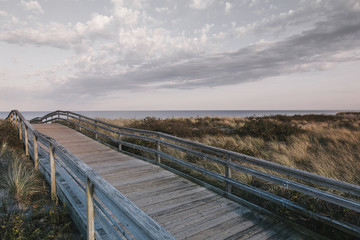 Boardwalk at Duxbury Beach Duxbury, Massachusetts