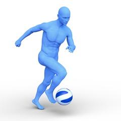 サッカー選手イメージ