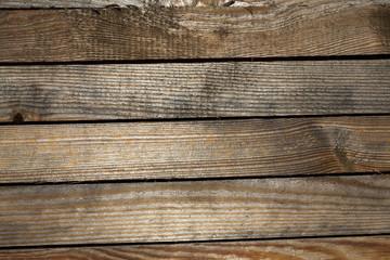 Wall of a barn, close-up