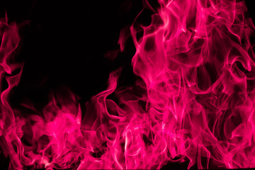 Pink  fire flame background and textured