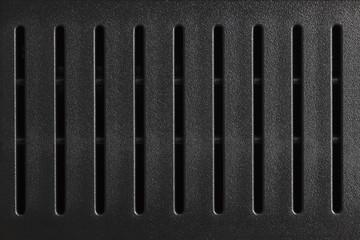 Texture of dark plastic lines
