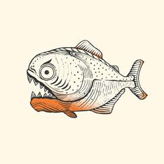 Piranha Fish Amazon
