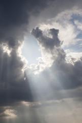 Cloudy sky, close-up