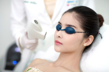 Face Care. Facial Laser Hair Removal.