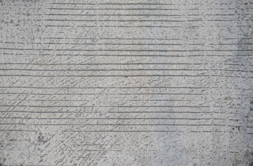 Texture surface cement material The concrete is patterned after